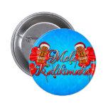 Mele Kalikimaka Tiki Pin Redondo 5 Cm