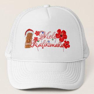 Mele Kalikimaka Tiki Trucker Hat