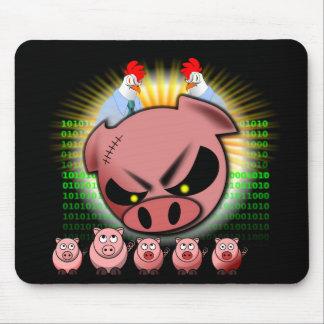 Melé Mousepad - pollos y cerdos