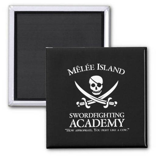 Melee Island Swordfighting Academy Magnet