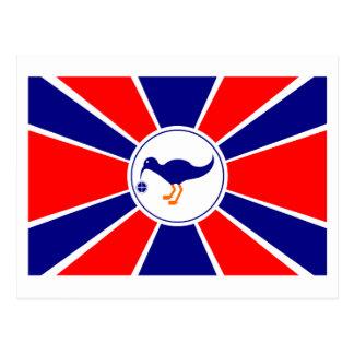 Melekeok Flag Postcard