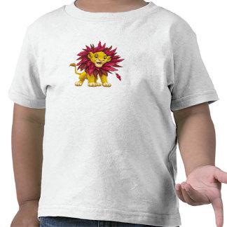 Melena del cachorro de rey Simba del león de las Camiseta
