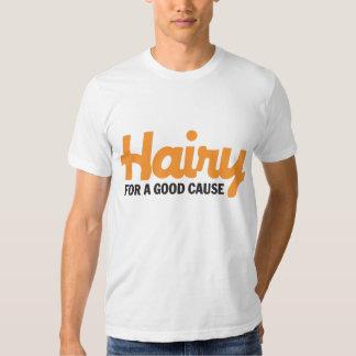 Melenudo para una buena camiseta de la causa 4 poleras
