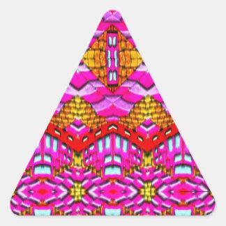 """""""Meli Criado"""""""" Diseños 2013""""""""Regalos Rosa """"002 Pegatina Triangulo Personalizadas"""