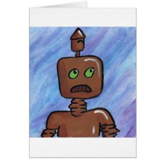 melibot001.10 greeting card