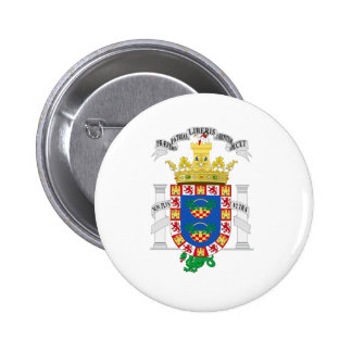Melilla (Spain) Coat of Arms Buttons