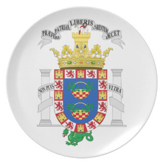 Melilla (Spain) Coat of Arms Plates