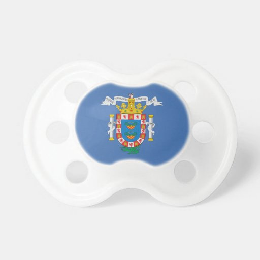 Melilla (Spain) Flag Pacifiers