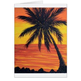 melindas balmy palm greeting card