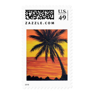 melindas balmy palm postage stamp