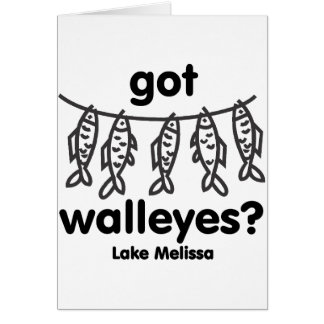 melissa got walleye card