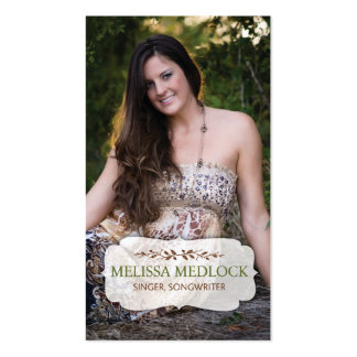 Melissa Medlock Tarjetas De Visita