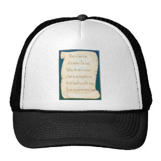 Melissa Mesh Hats