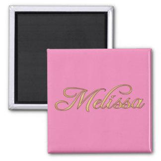 MELISSA Name Branded Gift Item Magnet