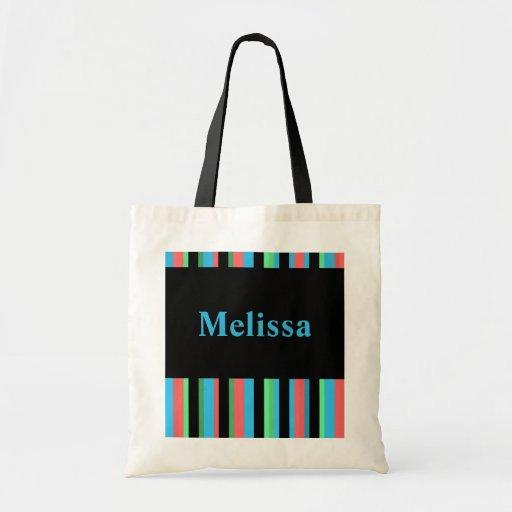 Melissa Pretty Striped Tote Bag