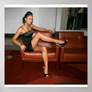 Melissa The Model Poster