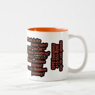 Melissa Two-Tone Coffee Mug