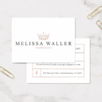 Melissa Waller Photography Business Card