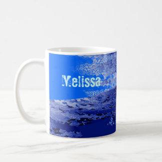Melissa's coffee mug
