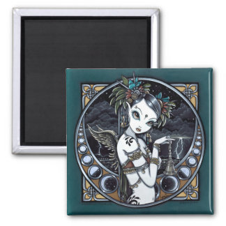 """Melita"" Goth Tribal Fusion Dancer Angel Magnet"