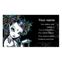Free business card software design business cards online free tribal fusion belly dancer angel thunder storm lightning reheart Gallery