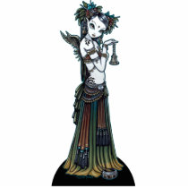 tribal, fusion, belly, dancer, angel, thunder, storm, lightning, city, scape, candels, singing, bowl, dance, gothic, henna, tattoo, fairy, jewerly, goddess, faery, fae, faerie, fairies, fantasy, melita, myka, jelina, art, Photo Sculpture with custom graphic design