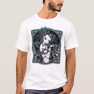 """Melita"" Gothic Tribal Fusion Dancer Art Top"