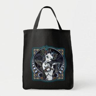 """Melita"" Gothic Tribal Fusion Dancer Canvas Tote"