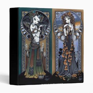 """Melita"" & ""Lucia"" Gothic Fantasy Binder Notebook"
