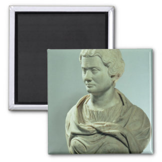 Melitene, priestess of the Mother of the Gods, Rom 2 Inch Square Magnet