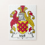 Mell Family Crest Jigsaw Puzzles