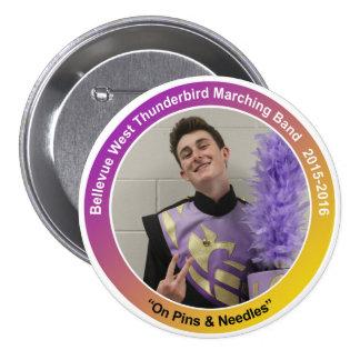 mello_DawsonR Pinback Button