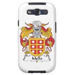 Mello Family Crest Samsung Galaxy S3 Cases