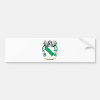 Mellon Coat of Arms (Family Crest) Bumper Stickers