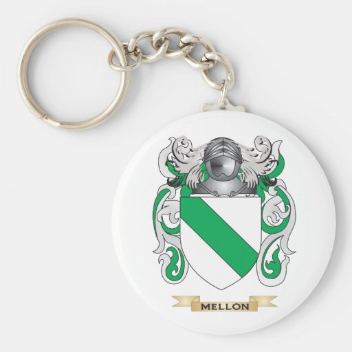 Mellon Coat of Arms (Family Crest) Keychain