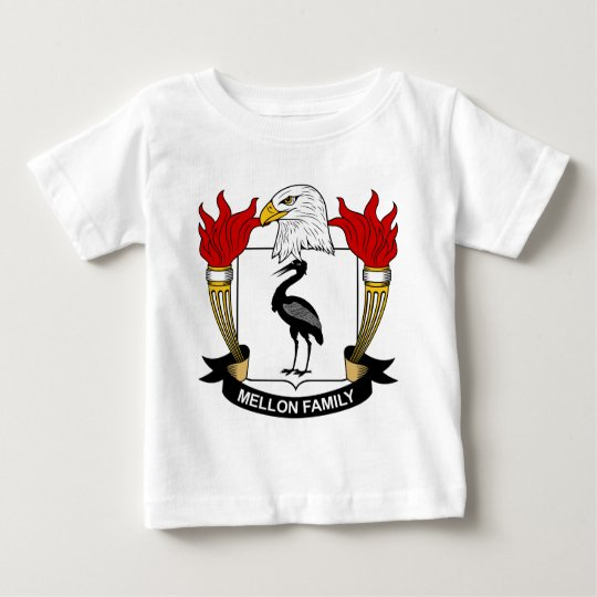 Mellon Family Crest Baby T-Shirt