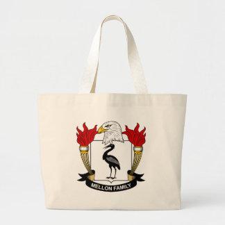 Mellon Family Crest Canvas Bags
