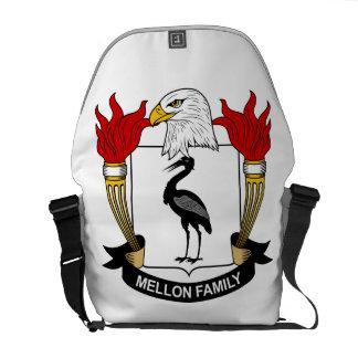 Mellon Family Crest Courier Bags