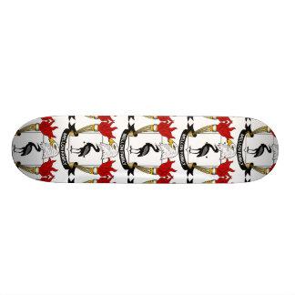 Mellon Family Crest Skate Deck