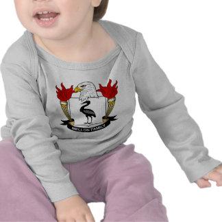 Mellon Family Crest Tee Shirt