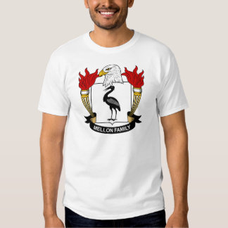 Mellon Family Crest Tee Shirts