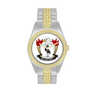 Mellon Family Crest Wristwatch