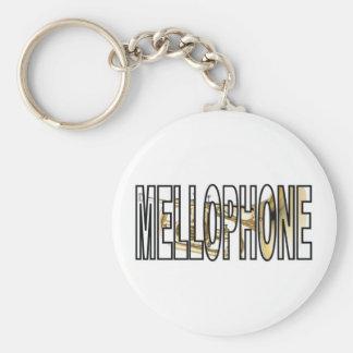 Mellophone Basic Round Button Keychain