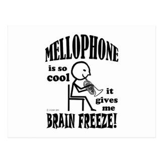 Mellophone, Brain Freeze Postcard
