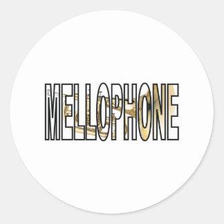Mellophone Classic Round Sticker