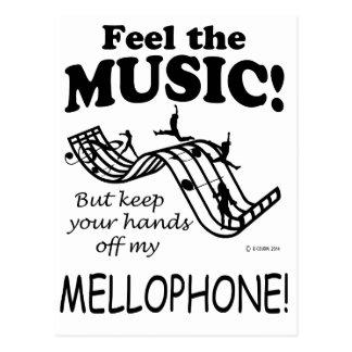 Mellophone Feel The Music Postcard