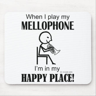 Mellophone Happy Place Mouse Pad