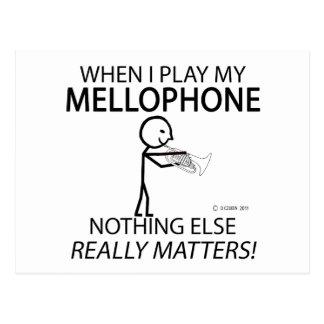 Mellophone Nothing Else Matters Postcard
