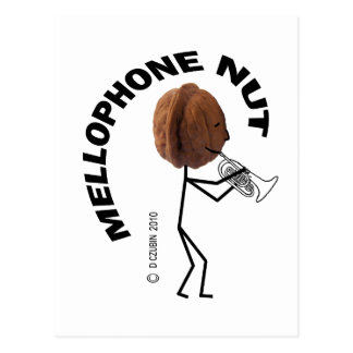 Mellophone Nut Postcard