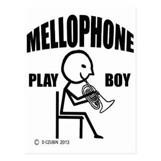 Mellophone Play Boy Postcard
